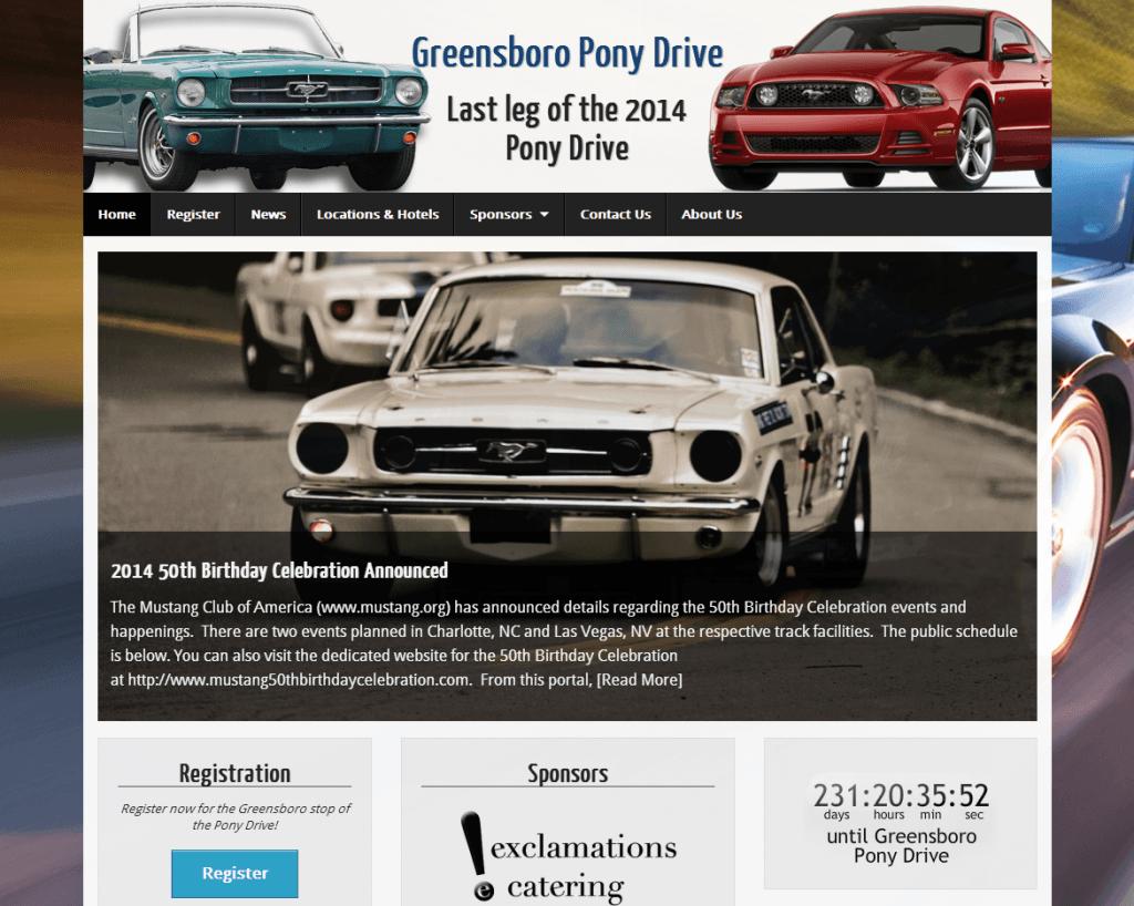 Greensboro Pony Drive Screenshot