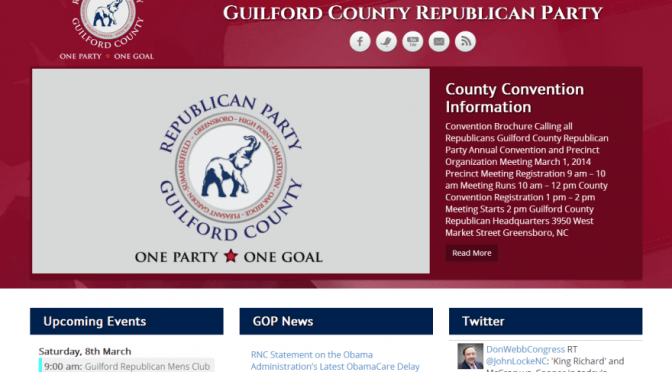 Guilford County GOP SS